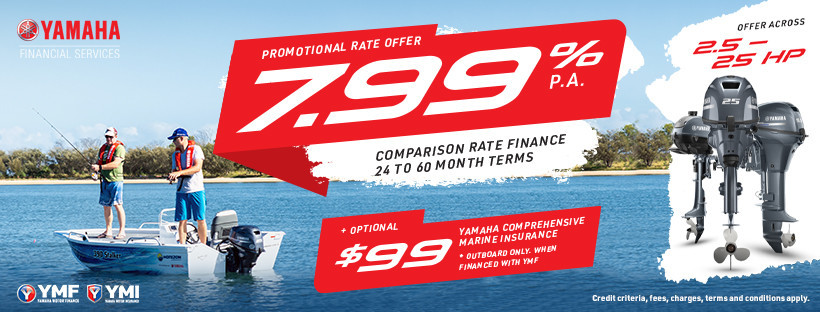 Yamaha Outboard Finance Special